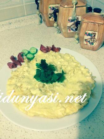 Kaşarlı Patatesli Yumurta