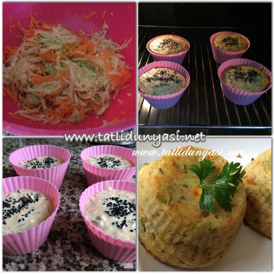 sebzeli muffin,kahvaltılık,mücver,fırında sebzeli muffin, havuç,çay saati,peynirli kek